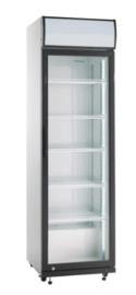 Koelkast met 1 glasdeur | Flessenkoelkast 388 Liter