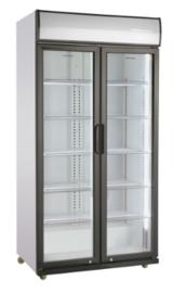 Glasdeur koelkast 2 deuren 590 Liter