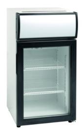 Opzet Vitrine koelkast 50 Liter