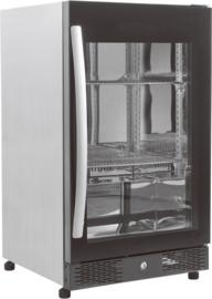 Barkoelkast met glasdeur 98 Liter 84cm hoog