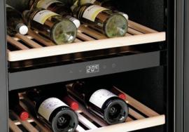 Wijnkoelkast | Wijnklimaatkast 2 temperatuur zones