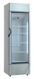 Professionele Glasdeurkoelkast met 1 deur 289 Liter