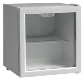 Mini koelkast | Opzetkoelkast met glasdeur 46 Liter