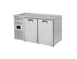 Bierkoeling | Dranken koelkast 2 deurs RVS