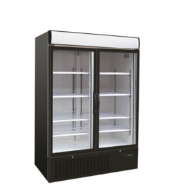 Koelkast | Flessenkoelkast met 2 glasdeuren 1079 Liter