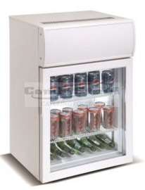 Mini Glasdeurkoelkast 75 Liter