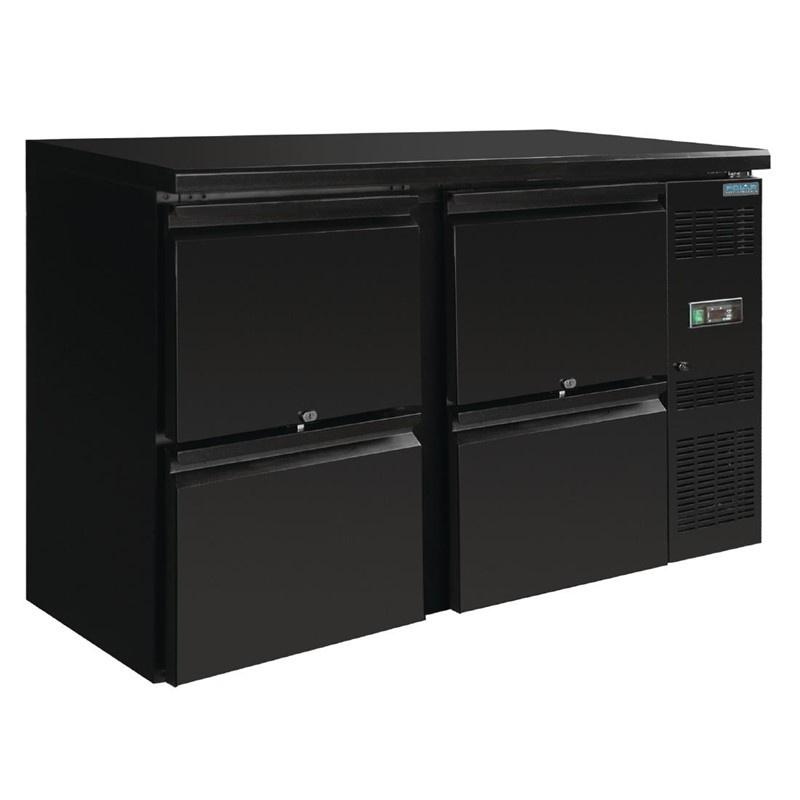 Barkoelkast | Onderbouw werkbank koeling 4 laden
