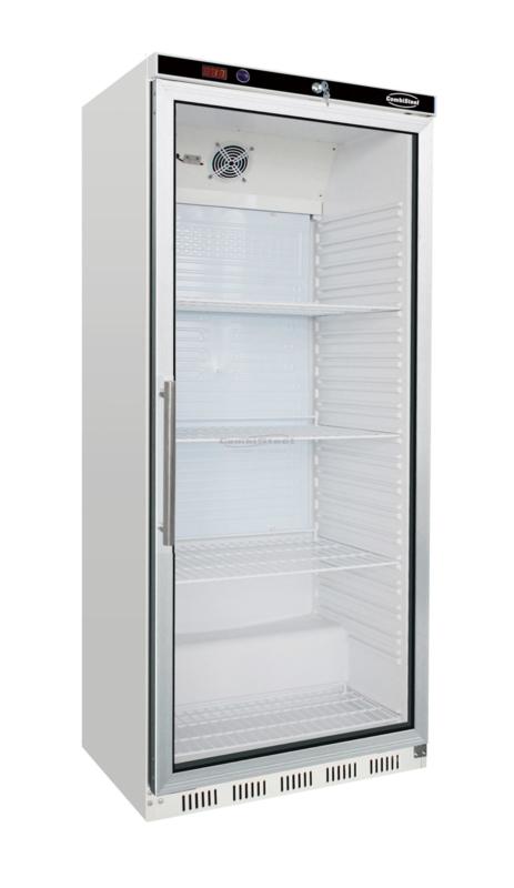 Horecakoelkast met glasdeur 570 Liter