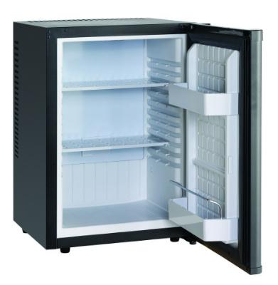 Stille Minibar zwart 45 Liter