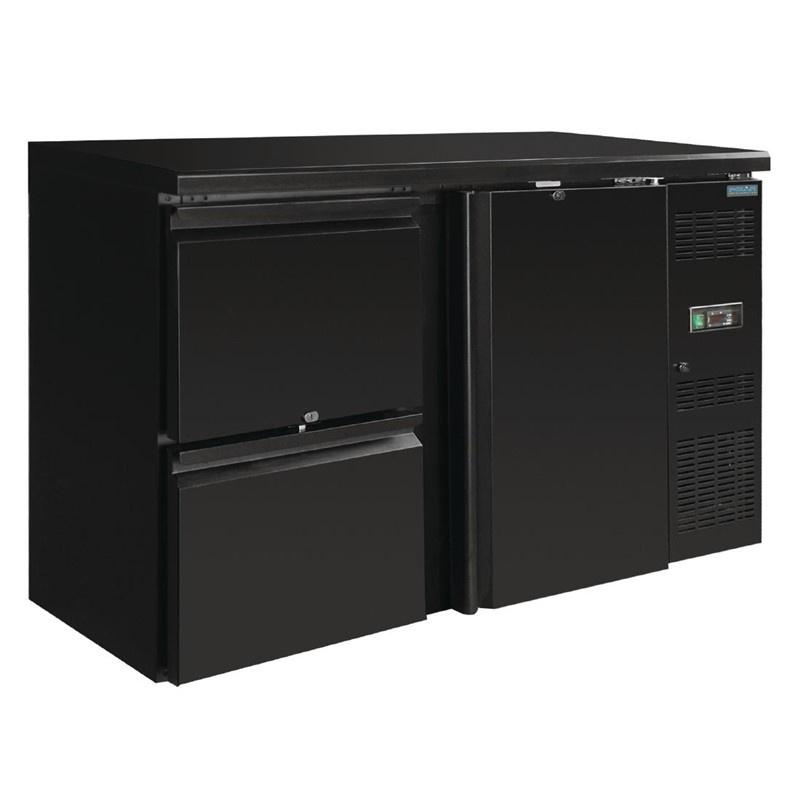 Barkoeling   Barkoelkast  1 deur en 2 laden