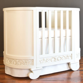 Bratt Decor Chelsea darling crib cradle white