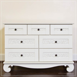 Bratt Decor Chelsea Dresser White