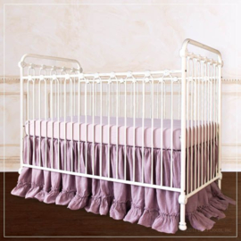 Bratt Decor Joy baby crib distressed white