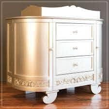 Bratt Decor Chelsea darling dresser Antique Silver