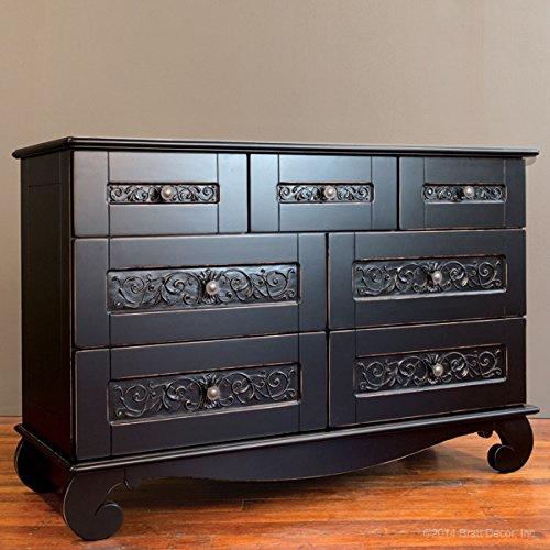 Bratt Decor Chelsea Dresser Black