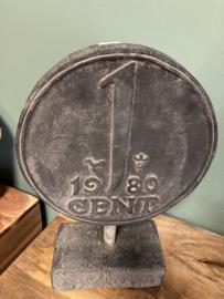 1 cent op voet