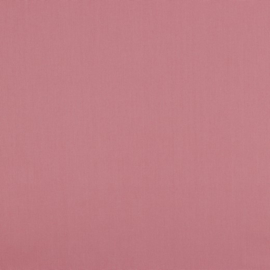 poplin uni blush - oud roze