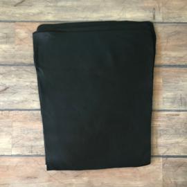 zwart leer 43-51 x 58 cm