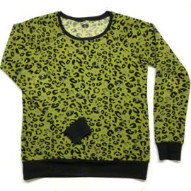 Sweater leopard print soft sweat