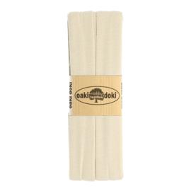 Jersey Biaisband 20 mm Zand 3 Meter