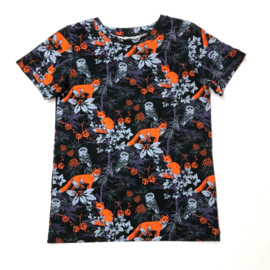 t-shirt forest dark