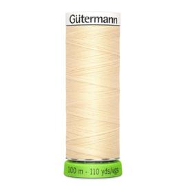 Naaigaren Gütermann R-Pet Ecru - Roze 610