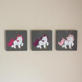 Set Schilderijtjes Eenhoorn