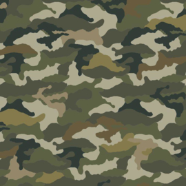 Jersey Camouflage Green