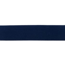 polyamide elastiek uni marine 40 mm