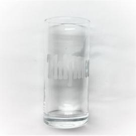 longdrink glas met naam