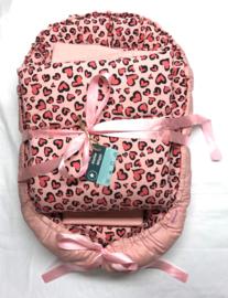 Babynestje Roze Hartjes