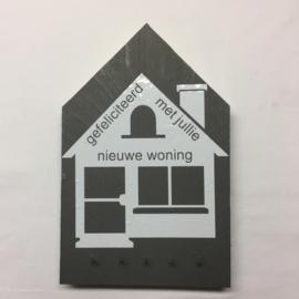 nieuwe woning sleutelrek