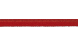 elastisch paspelband rood