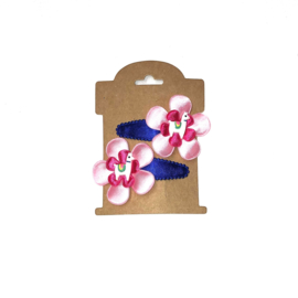 setje lama kobalt - roze - fuchsia