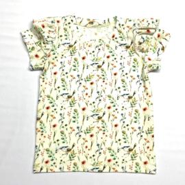 T-Shirt Roodborstjes met froezels