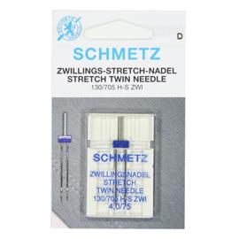 Schmetz tweelingnaald 4.0/75