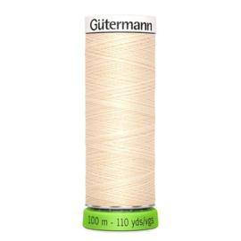 Naaigaren Gütermann R-Pet Ecru - Roze 414