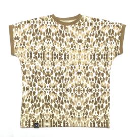 T-Shirt Giraffenprint