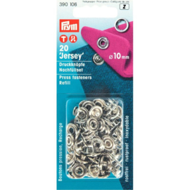 Prym drukknopen 10 mm wit