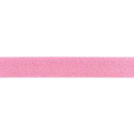 giltterelastiek 25 mm roze