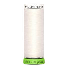Naaigaren Gütermann R-Pet Ecru 111