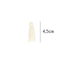Kwastje 4,5 cm Ecru