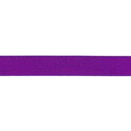 Glitterelastiek 25 mm paars