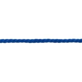 gedraaid koord 8 mm kobalt