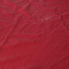 soepel rood leer ruim 3,5 m2