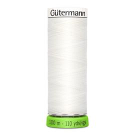 Naaigaren Gütermann R-Pet Wit 800