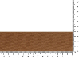 Elastiek Schuingeweven Uni Zand 40 mm