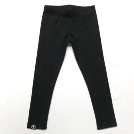 legging uni zwart