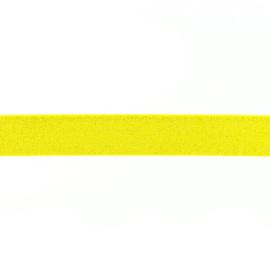 Glitterelastiek 25 mm geel