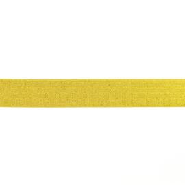 giltterelastiek 25 mm goud